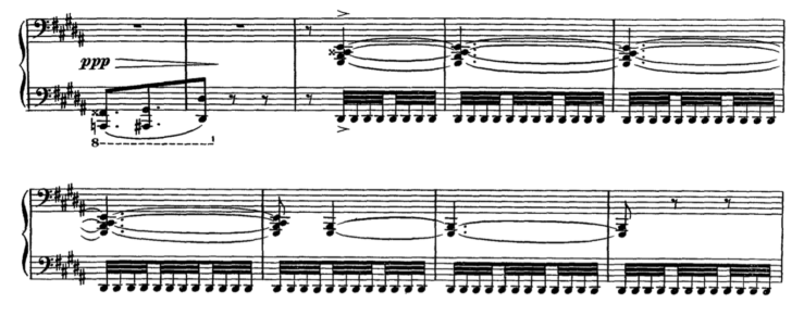 Maurice Ravel: from Gaspard de la Nuit, III (Scarbo)