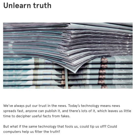 unlearn-truth