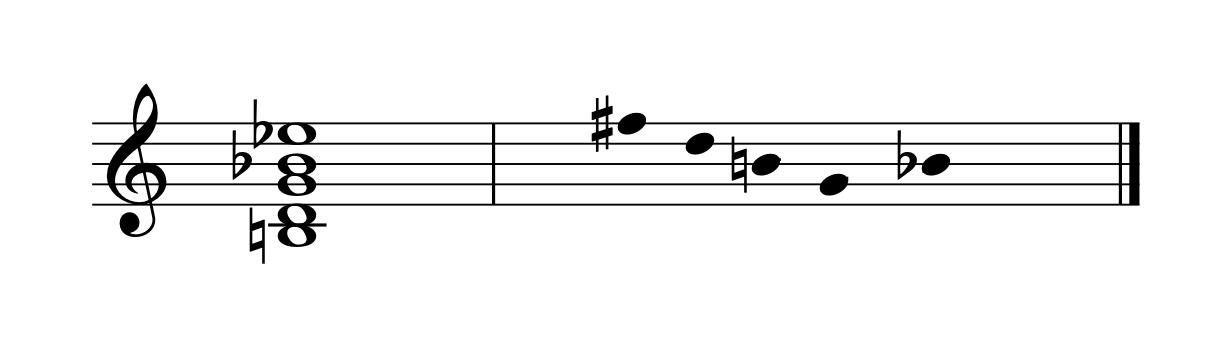 quintet-ursatz
